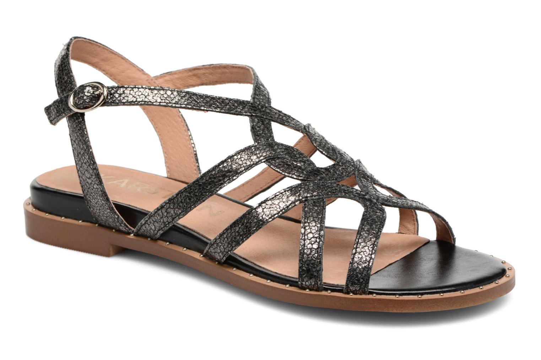 Sandaler Karston Soby Sort detaljeret billede af skoene