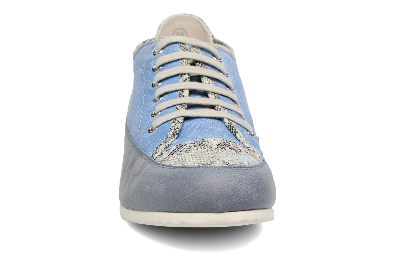 Baskets Karston Caloza Bleu vue portées chaussures