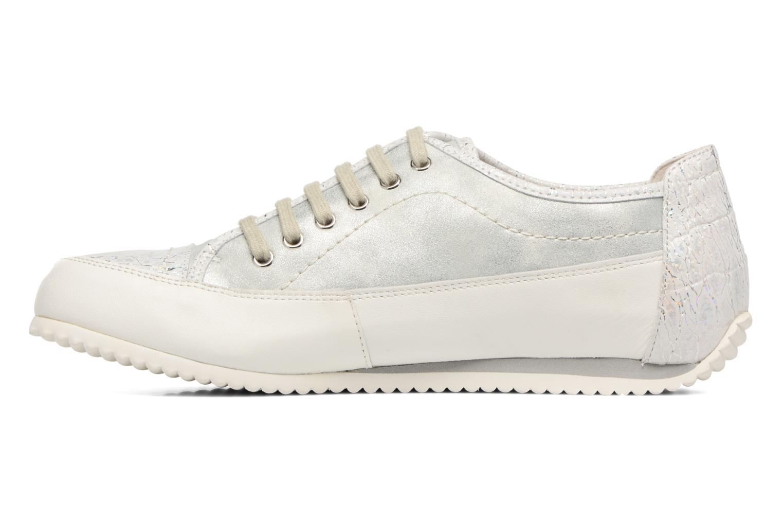 Sneakers Karston Caloza Hvid se forfra