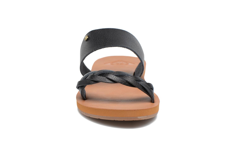 Clogs & Pantoletten Roxy Tess schwarz schuhe getragen