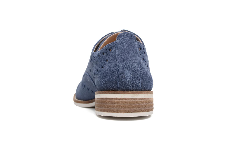 Chaussures à lacets Madison Aclina Bleu vue droite