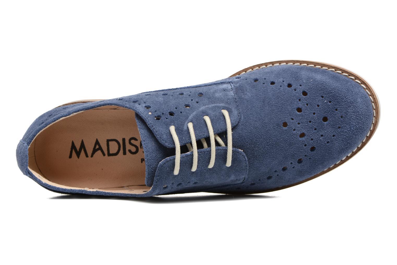 Chaussures à lacets Madison Aclina Bleu vue gauche
