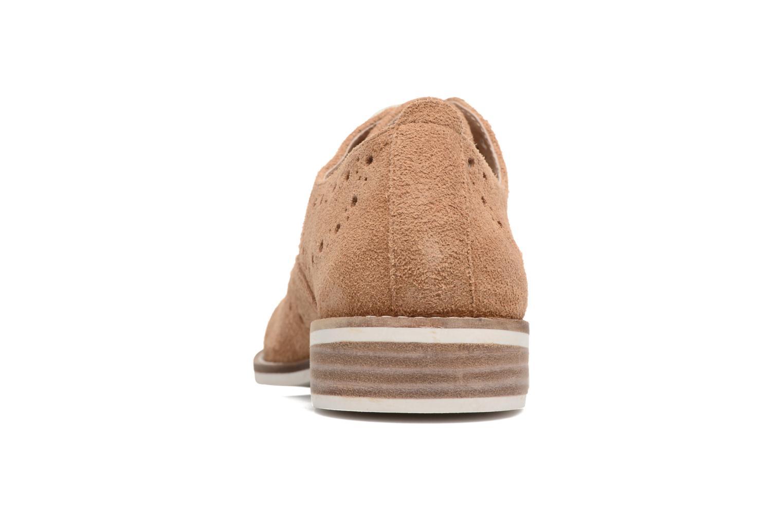 Chaussures à lacets Madison Aclina Marron vue droite