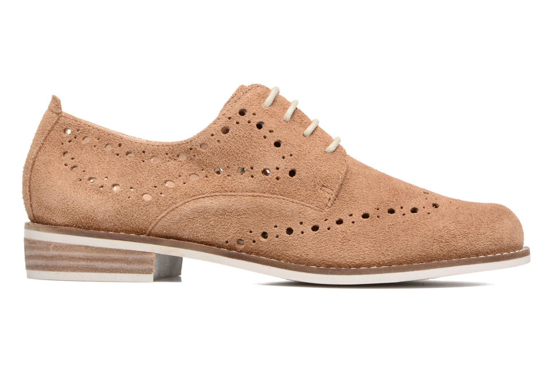 Chaussures à lacets Madison Aclina Marron vue derrière