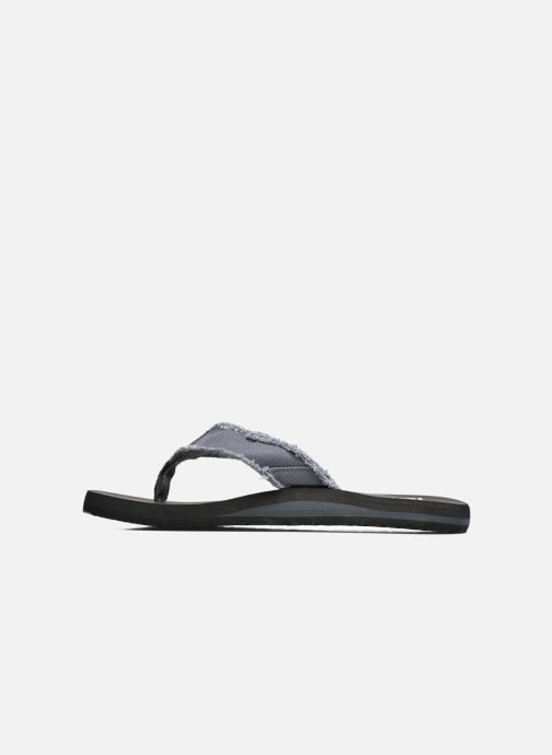Flip flops Quiksilver Monkey Abyss M Grey front view