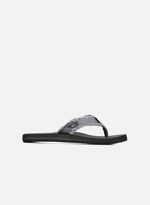 Flip flops Quiksilver Monkey Abyss M Grey back view