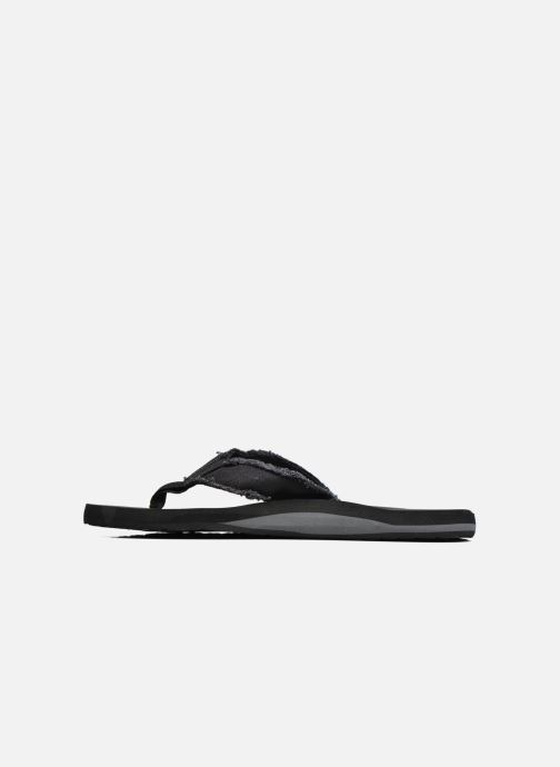 Slippers Quiksilver Monkey Abyss M Zwart voorkant
