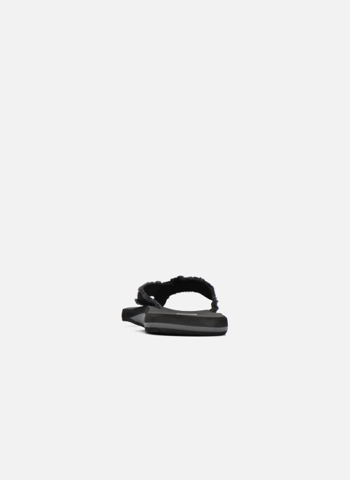 Flip flops Quiksilver Monkey Abyss M Black view from the right