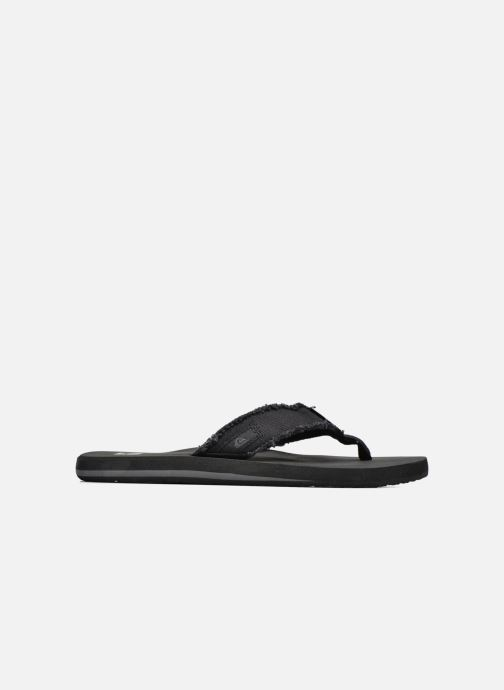 Flip flops Quiksilver Monkey Abyss M Black back view