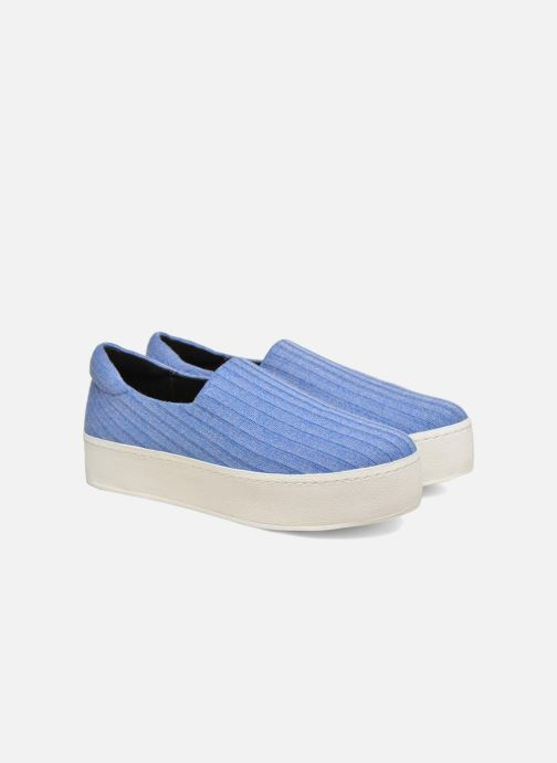 Trainers Opening Ceremony Cici Ribbed Blue 3/4 view