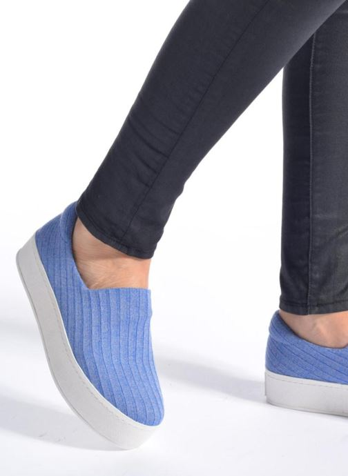 Trainers Opening Ceremony Cici Ribbed Blue view from underneath / model view