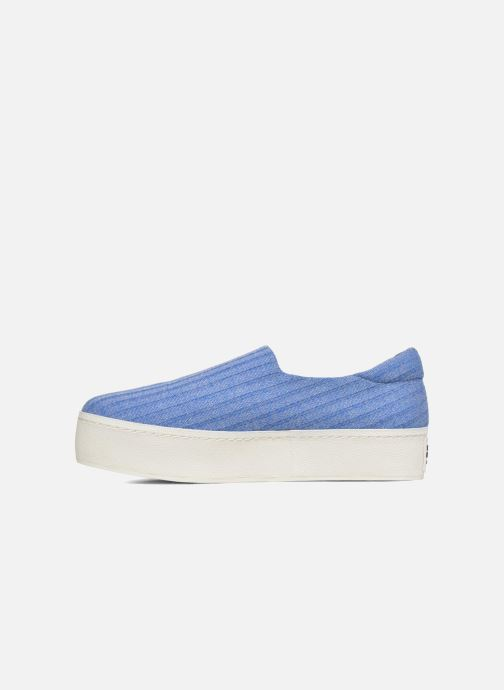 Trainers Opening Ceremony Cici Ribbed Blue front view