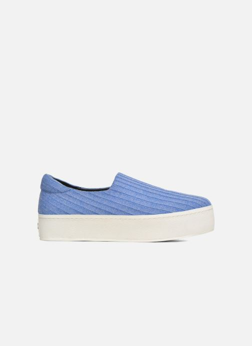 Trainers Opening Ceremony Cici Ribbed Blue back view