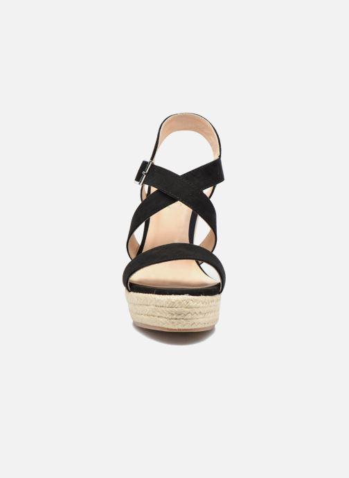 Sandalen I Love Shoes MCJASON schwarz schuhe getragen