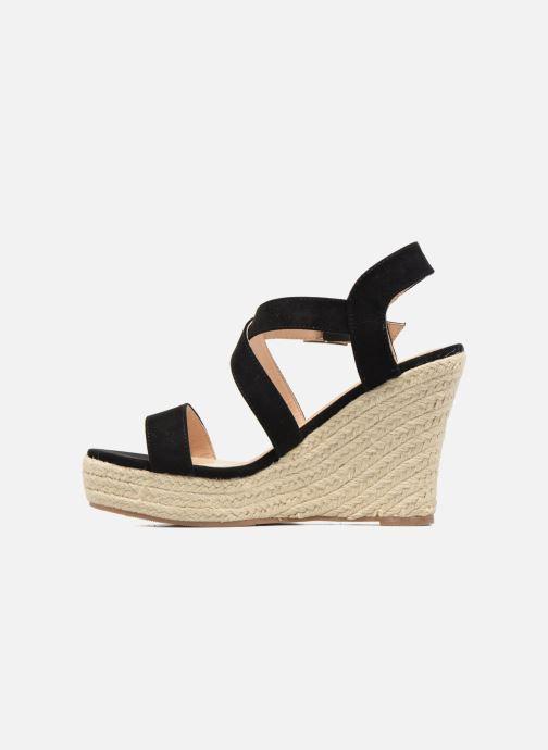 Sandalen I Love Shoes MCJASON schwarz ansicht von vorne