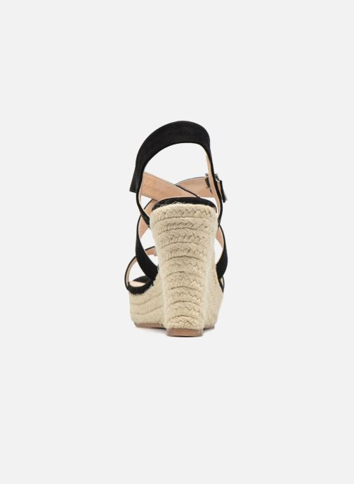 Sandalias I Love Shoes MCJASON Negro vista lateral derecha