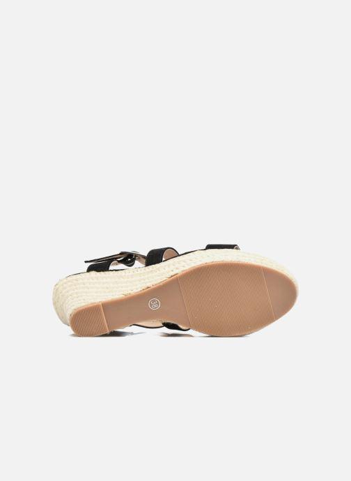 Sandalen I Love Shoes MCJASON schwarz ansicht von oben