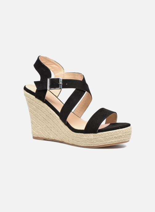 Sandaler I Love Shoes MCJASON Sort detaljeret billede af skoene