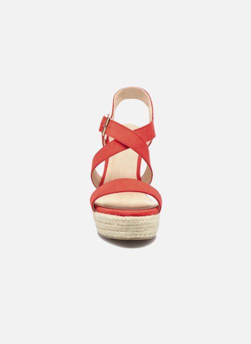 Sandalen I Love Shoes MCJASON rot schuhe getragen