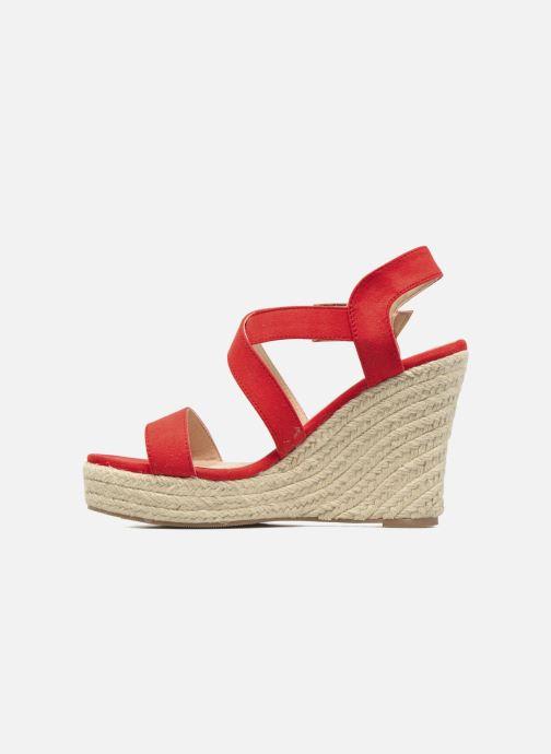 Sandalen I Love Shoes MCJASON rot ansicht von vorne
