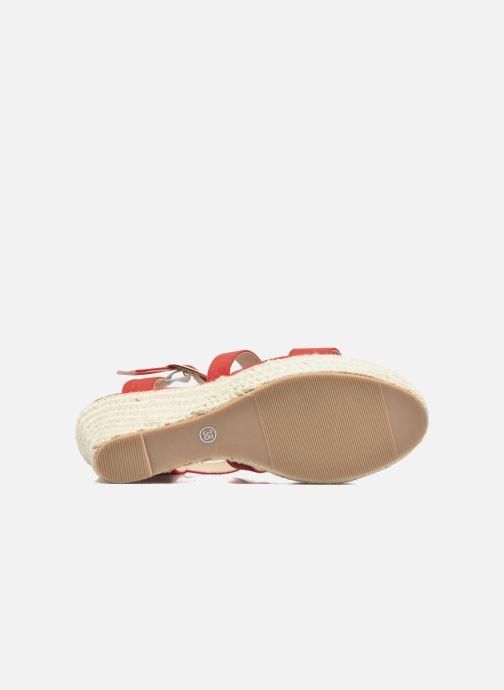 Sandalen I Love Shoes MCJASON rot ansicht von oben
