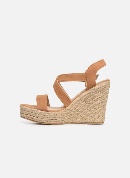 Sandales et nu-pieds I Love Shoes MCJASON Marron vue face