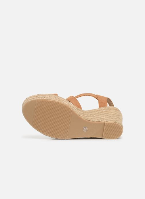 Sandalias I Love Shoes MCJASON Marrón vista de arriba