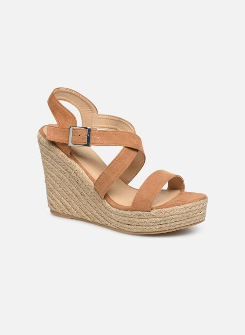 Sandales et nu-pieds I Love Shoes MCJASON Marron vue détail/paire