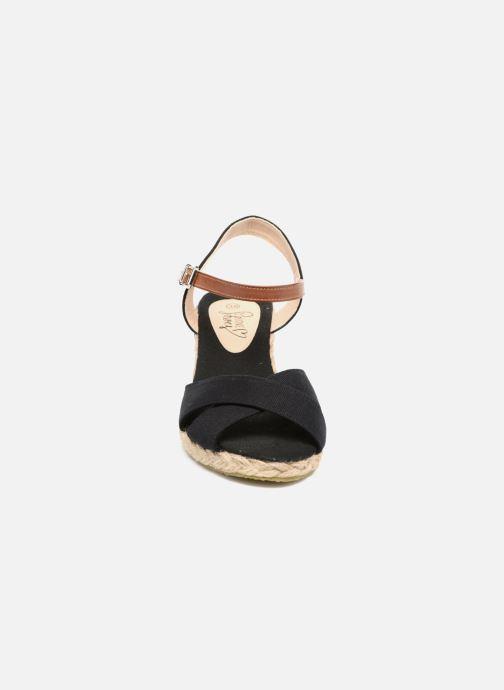 Sandales et nu-pieds I Love Shoes MCEMIMI Noir vue portées chaussures