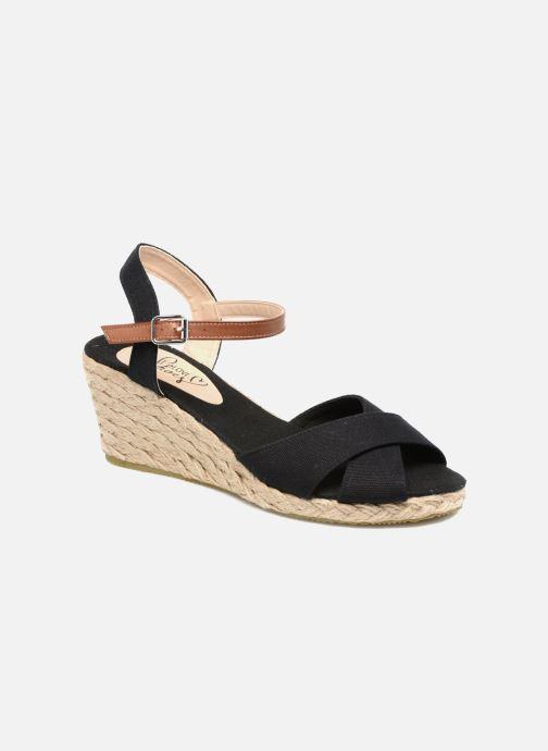 Sandales et nu-pieds I Love Shoes MCEMIMI Noir vue détail/paire