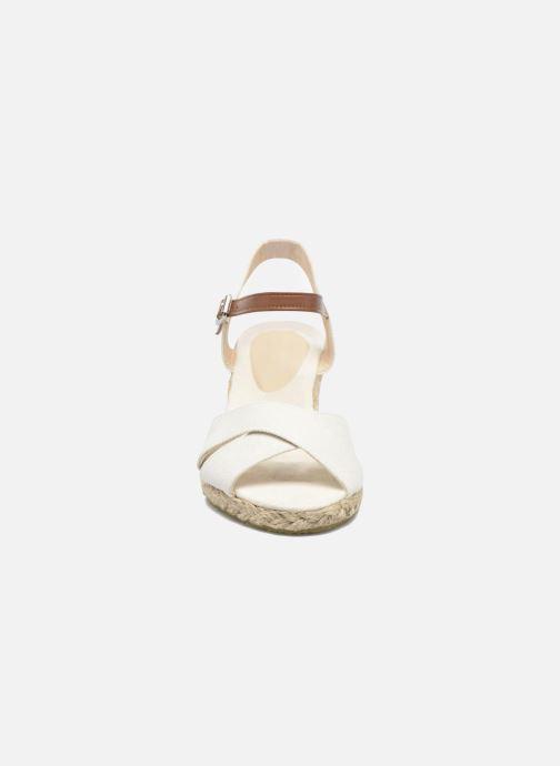 Sandalias I Love Shoes MCEMIMI Blanco vista del modelo