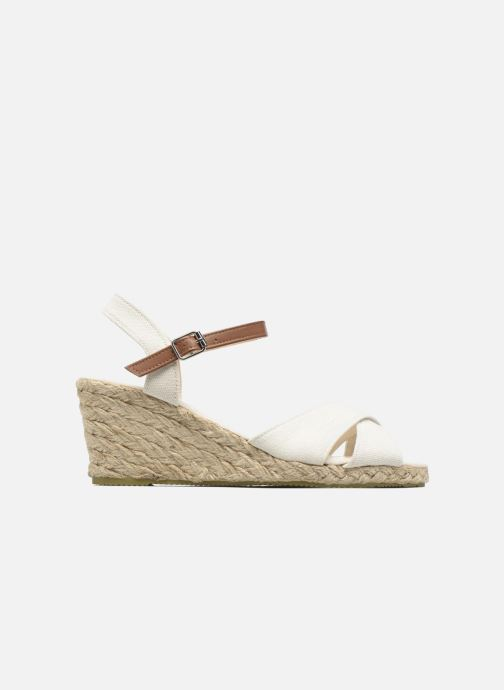 Sandales et nu-pieds I Love Shoes MCEMIMI Blanc vue derrière