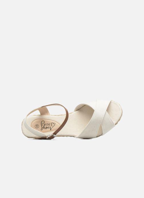 Sandales et nu-pieds I Love Shoes MCEMIMI Blanc vue gauche