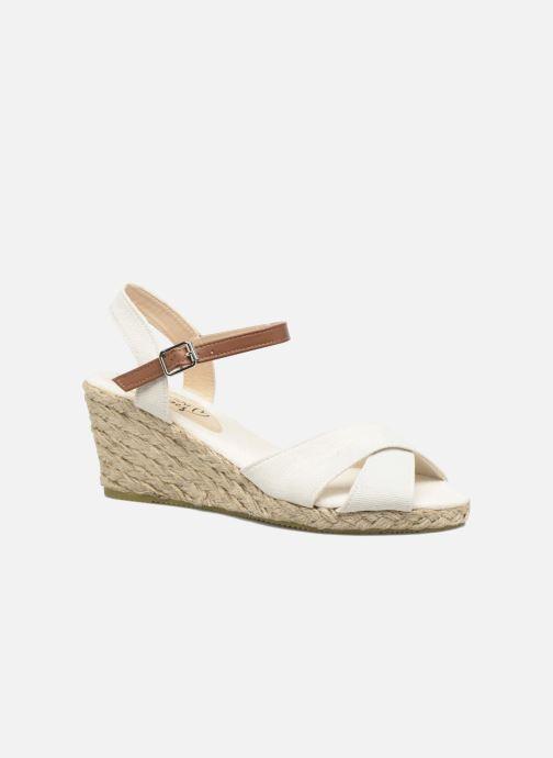 Sandales et nu-pieds I Love Shoes MCEMIMI Blanc vue détail/paire