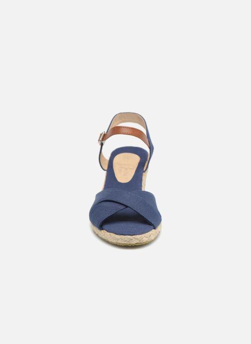 Sandales et nu-pieds I Love Shoes MCEMIMI Bleu vue portées chaussures