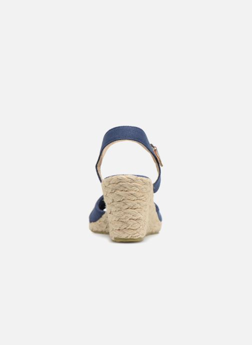 Sandalias I Love Shoes MCEMIMI Azul vista lateral derecha