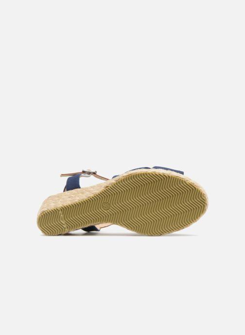 Sandales et nu-pieds I Love Shoes MCEMIMI Bleu vue haut