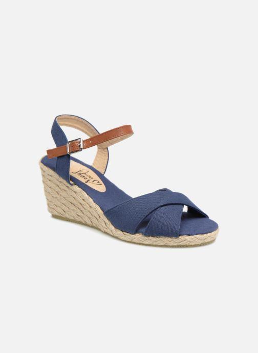 Sandales et nu-pieds I Love Shoes MCEMIMI Bleu vue détail/paire