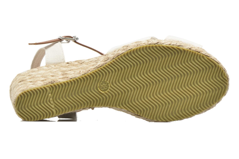 Sandales et nu-pieds I Love Shoes MCEMIMI Blanc vue haut