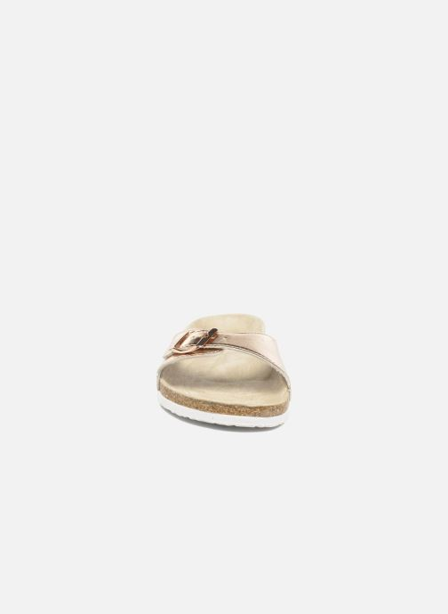 Mules & clogs I Love Shoes MCALER Bronze and Gold model view