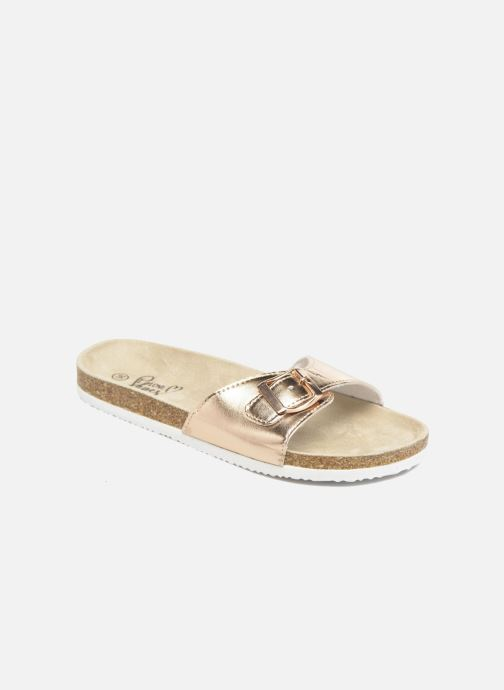 Mules & clogs I Love Shoes MCALER Bronze and Gold detailed view/ Pair view