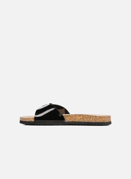 Zuecos I Love Shoes MCALER Negro vista de frente