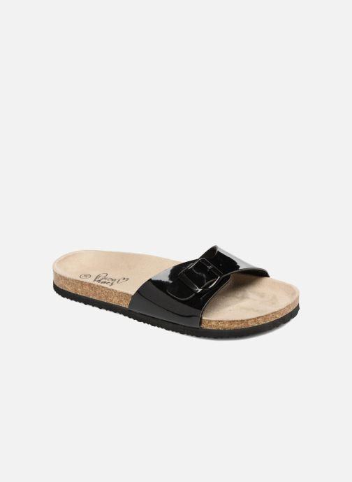 Zuecos I Love Shoes MCALER Negro vista de detalle / par
