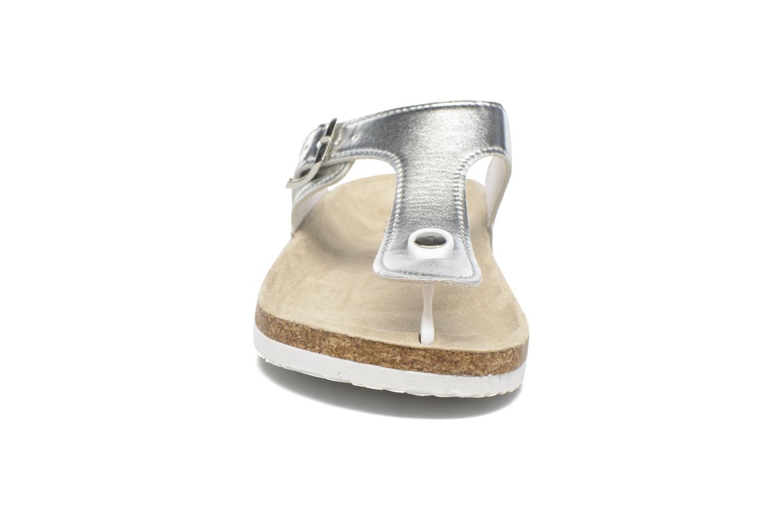 Sandales et nu-pieds I Love Shoes MCOLOS Argent vue portées chaussures