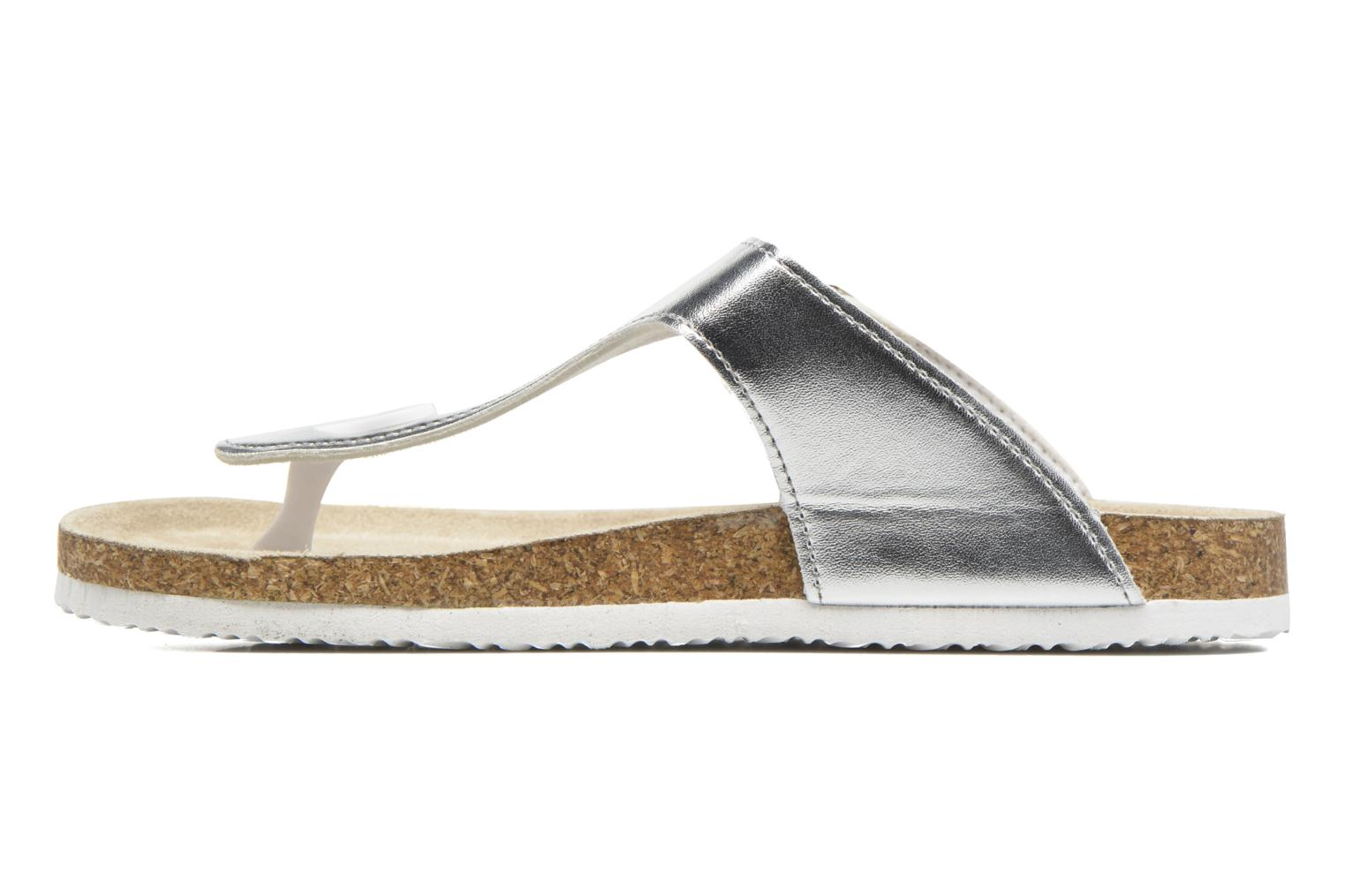 Sandals I Love Shoes MCOLOS Silver front view