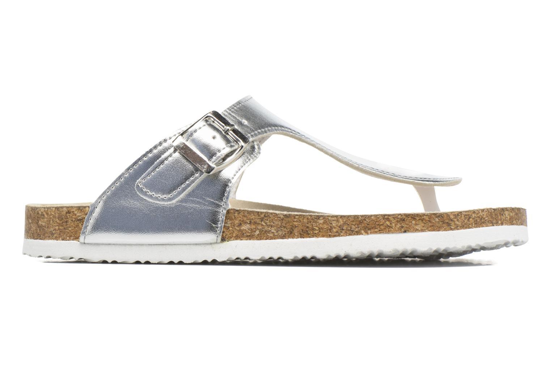 Sandales et nu-pieds I Love Shoes MCOLOS Argent vue derrière