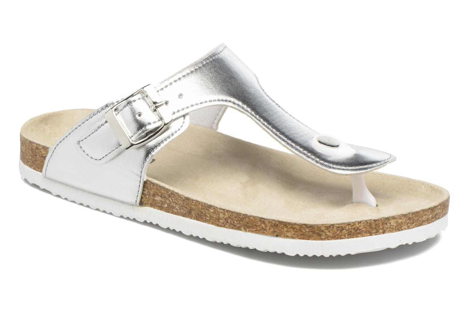 Sandals I Love Shoes MCOLOS Silver detailed view/ Pair view