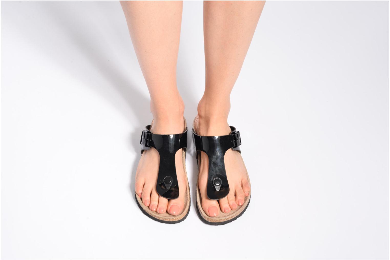 Sandalen I Love Shoes MCOLOS schwarz ansicht von unten / tasche getragen
