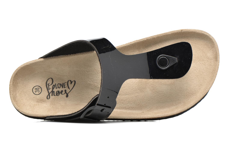 Sandales et nu-pieds I Love Shoes MCOLOS Noir vue gauche