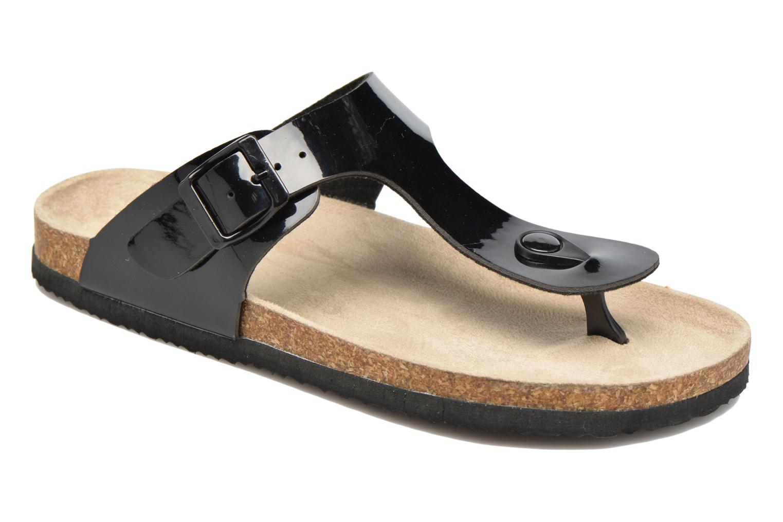 Sandales et nu-pieds I Love Shoes MCOLOS Noir vue détail/paire